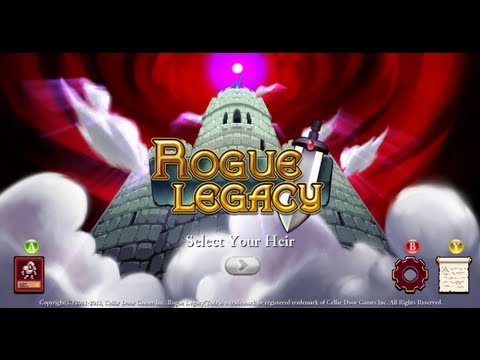 Rogue Legacy #3 На пути к Spell Thief