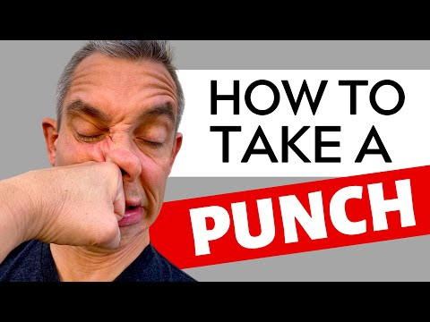 How to Take a Punch in a Fight