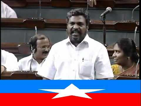 Thirumavalavan is a Indian citizen, but he talk about srilanka tamil people,this is very good.