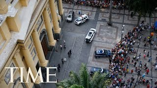 Gunman Kills 4 People And Then Himself After Opening Fire In Brazil Cathedral After Mass   TIME