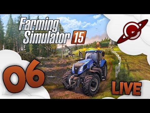 Farming simulator 15 |  Live en Multi #6