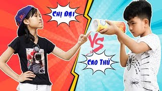 Chị Đại Gặp Đại Cao Thủ - Giải Trí Cho Bé ♥ Min Min TV Minh Khoa