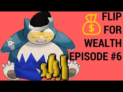 Flip For Wealth - Episode 6: Flipping High Value | Nex Armor + Noxious | Runescape