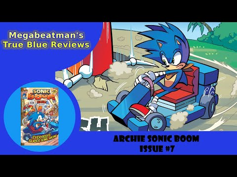 Sonic Boom #7 - A Let's Review by Megabeatman
