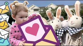 Comedy Pretend Play With A LOT OF Rabbits - Outdoor Playground For Kids