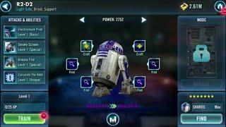 Star Wars: Galaxy Of Heroes - SPOILERS Unreleased R2-D2 - Wicket