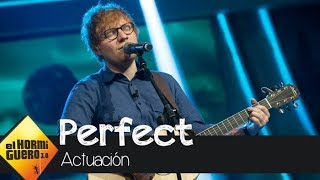 Download Lagu Un melancólico Ed Sheeran canta en directo 'Perfect' en 'El Hormiguero 3.0' Gratis STAFABAND