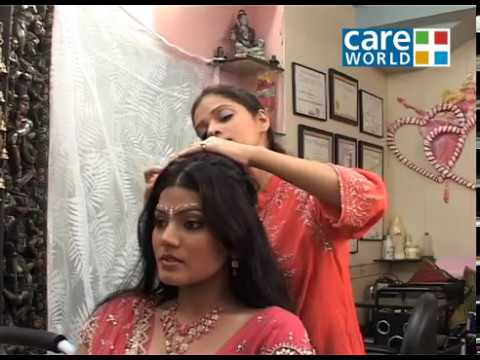 Saundarya - Make Up Tips - Steps To Get The Perfect Bridal Hairstyle