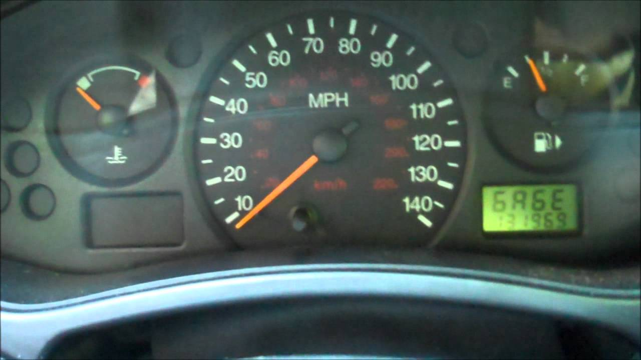 Ford Focus Gauge Trick Digital Tach And Other Readouts