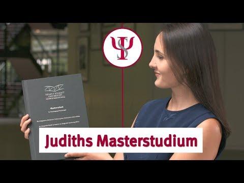 Judiths Masterstudium | Psychologie mit Prof. Erb