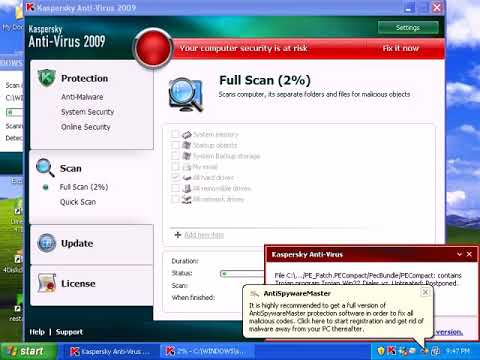 Kaspersky AntiVirus 2009 Review - Part 3