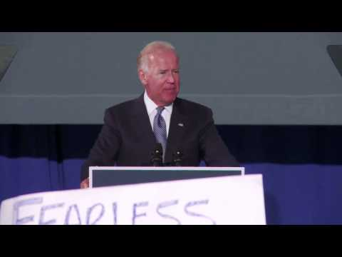 Vice President Joe Biden on Medicare   Blacksburg, VA