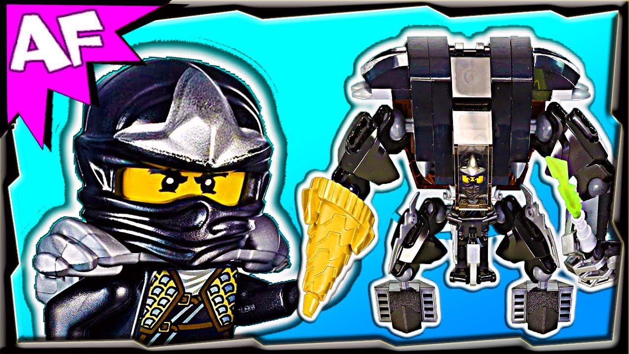 Lego Mech Suit Ninjago Mech Custom Lego Ninjago