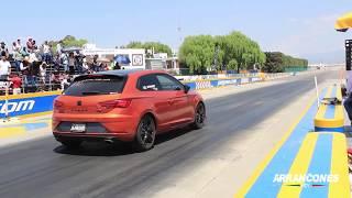 Cupra 290 vs Audi S3 | Arrancones Pegaso Marzo 2019