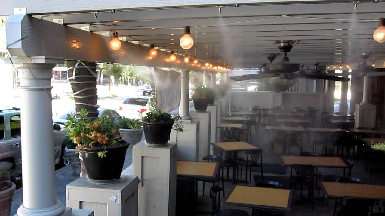 Hệ thống phun sương nhà hàng