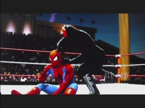 Wwe 13 Spider Man Amp Batman Vs Darth Vader Amp Darth Maul