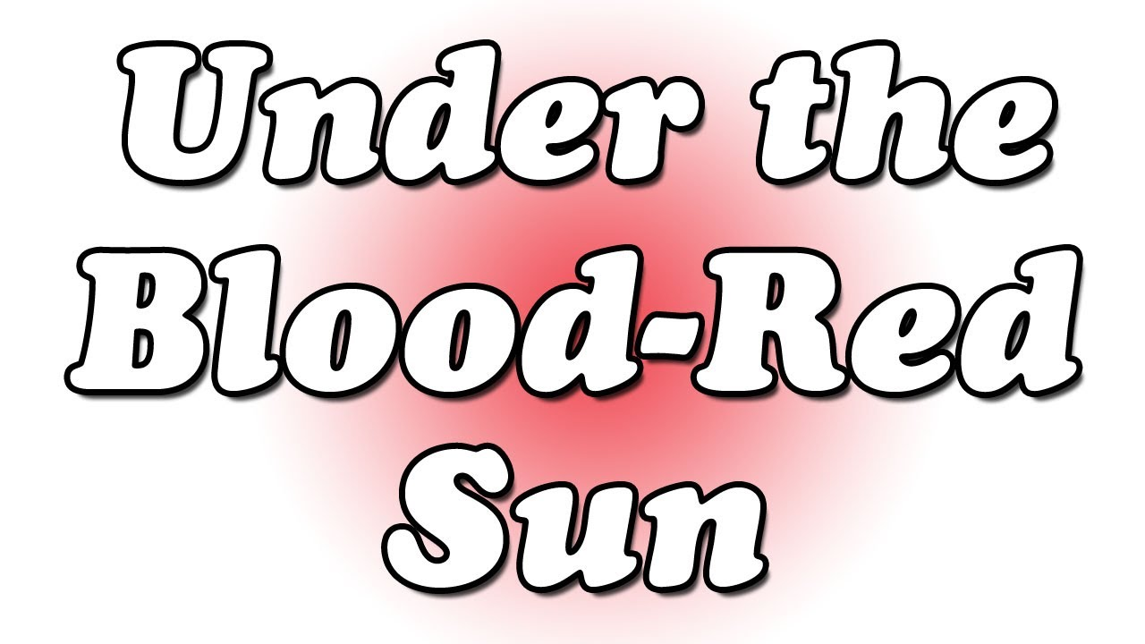 under the blood red sun Words: tumbler: a gymnast who performs rolls and somersaults and twists etc a glass with a flat bottom but no handle or stem originally had a round bottom.