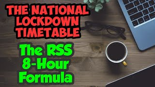 How to study during National Lockdown | Daily Timetable for Students Class 8-12