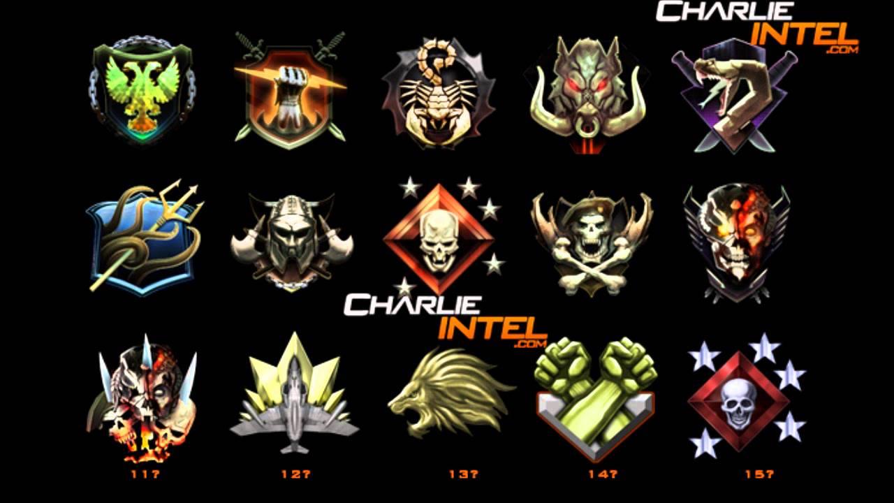 Prestige Emblems Black Ops 1 Black Ops 2 Official Prestige