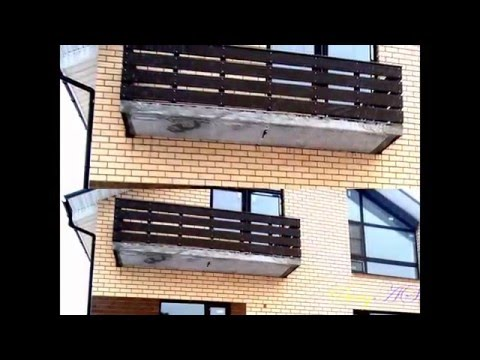 Балкон для частного дома своими руками