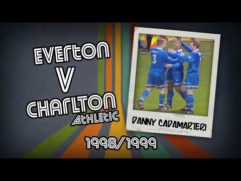 RETRO GOAL: Danny Cadamarteri - Everton v Charlton Athletic, 1998/1999 goals DVDs: http://visionsport.co.uk/shop.html match commentary: Steve Dixon production company: VSI TV for VISIONSPORT...