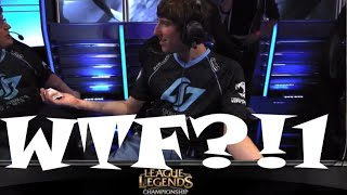 Nien trolls and picks Nautilus by accident, Thinkcard in shock. Before CLG vs EG Match | S4 NA LCS