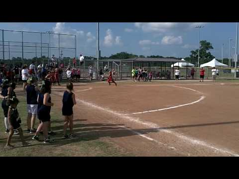 2010 USSSA World Series (Seminole, OK) - Running Bases Competition - Forney Fusion