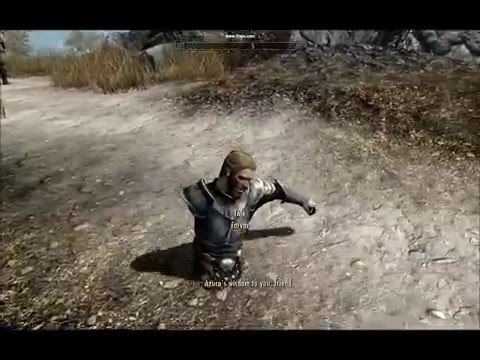 Disabled Torvar? ~Funny skyrim thing