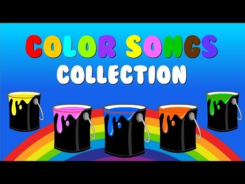 """Color Songs Collection Vol. 1"" – Learn Colors, Sing Colors Nursery Rhymes"
