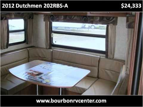 2012 Dutchmen 202RBS-A New Cars Bourbon MO