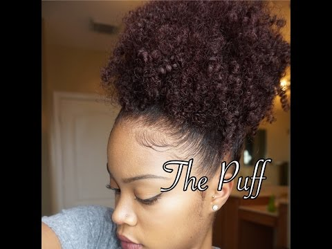 Curly High Puff & Side Puff How-To
