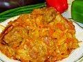 Тушёная капуста, с рёбрышками и не только. Домашнее блюдо с неповторимым вкусом!