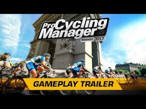 PRO CYCLING MANAGER 2017   GAMEPLAY TRAILER OFFICIEL !!