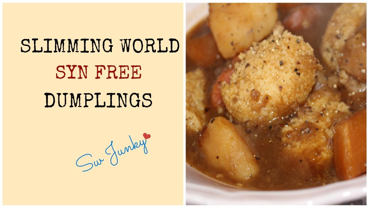 Slimming World Syn Free Dumplings Recipe Youtube