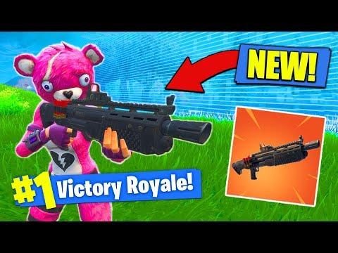 *NEW* LEGENDARY HEAVY SHOTGUN GAMEPLAY In Fortnite Battle Royale!