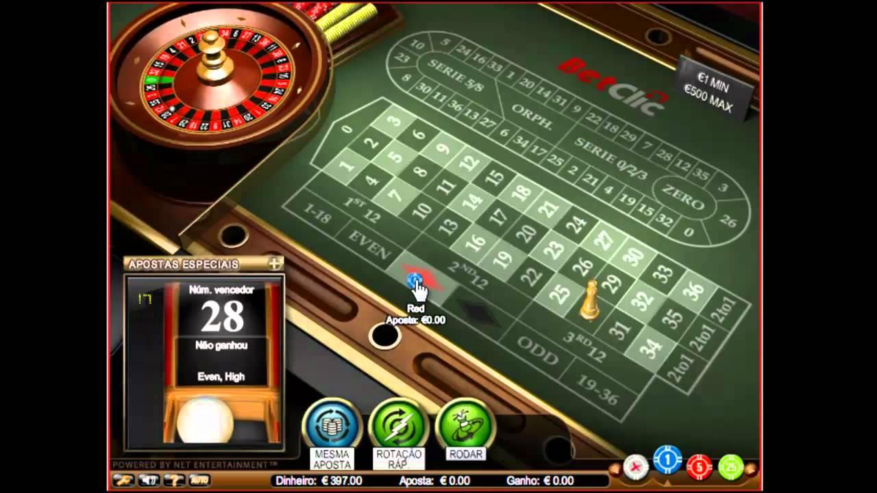 Ganhar na roleta casino