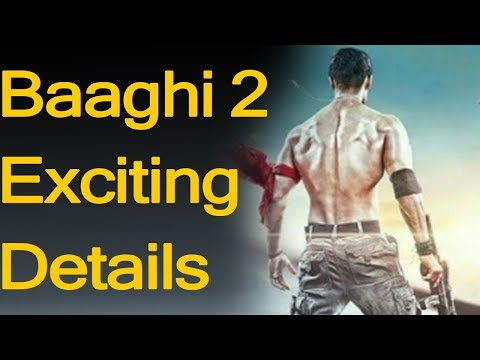 Tiger Shroff Reveals Details On Baaghi 2 With Disha Patani | hindi news | latest news today|Trending