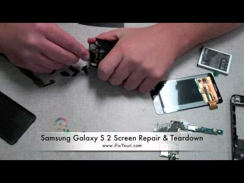 Samsung Galaxy S 2 i9100 Screen Repair & Teardown