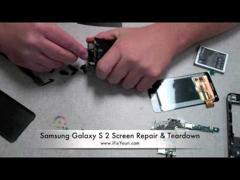 Samsung Galaxy S 2 i9100 Screen Repair & Teardown