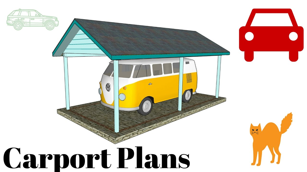 Free carport plans youtube for Free carport plans