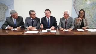 Live das quintas-feiras com o Presidente Bolsonaro com muitas novidades (09/05/2019).