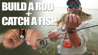 Build a rod + Catch a fish