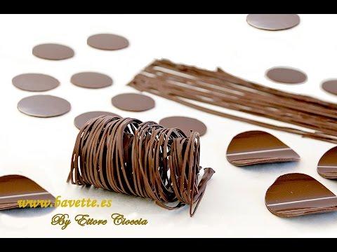 Мастер класс украшения из шоколада 123
