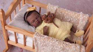 Silicone Baby Basil - Maria Lynn Art Dolls
