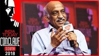 Ex-ISRO Chairman, Kiran Kumar On Space Technology, Ockhi Alert & More | IT Conclave South 2018