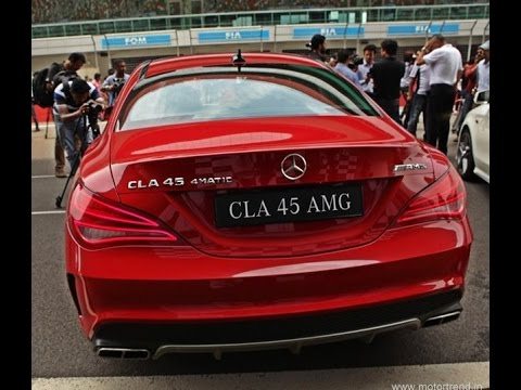 Mercedes-Benz CLA 45 AMG Quick Review - Motor trend India