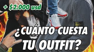¿CUÁNTO DINERO CUESTA TU OUTFIT? PARTE 3 | SANTIAGO, CHILE | How Much Is Your Outfit? En Español