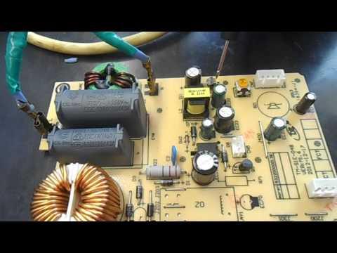 Индукционная плита ремонт