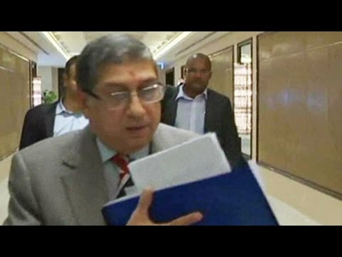 Should N Srinivasan continue to hold ICC post?