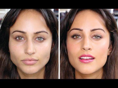 natural everyday/work makeup look  woc  tutorial  youtube